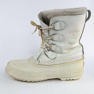 Sorel Caribou Winter Duck Boots Womens 9